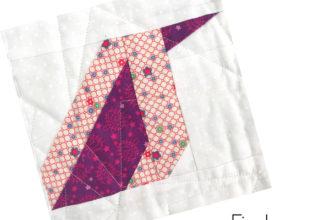 Finch Quilt Block | Sew Hometown