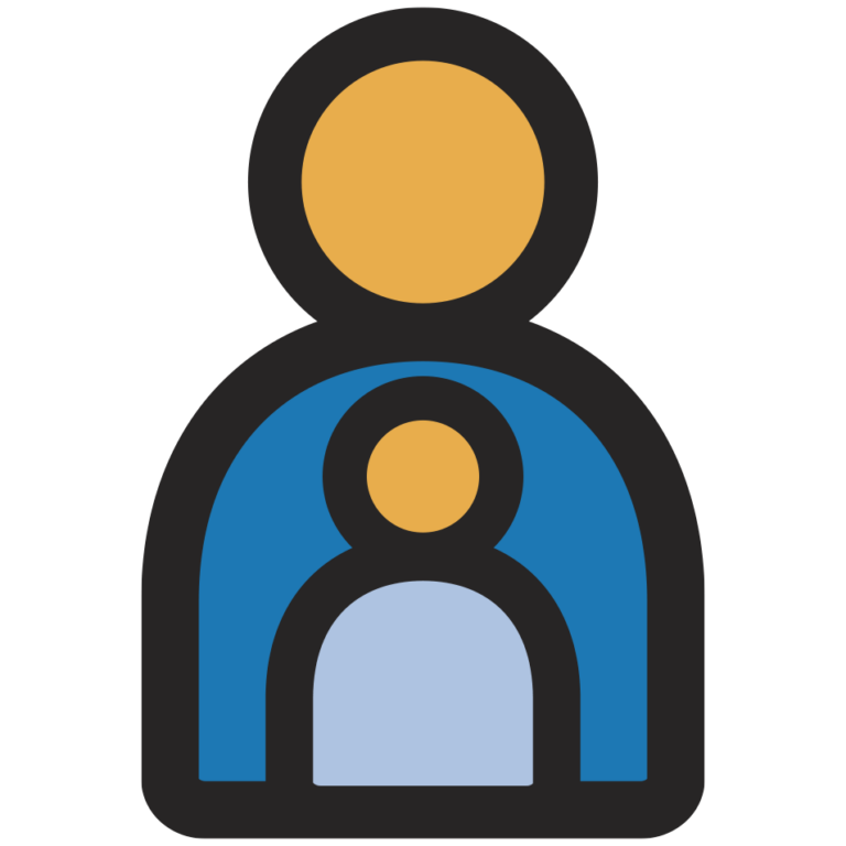 icon of parent and child
