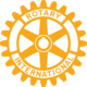 Rotary Logo - Gold Color