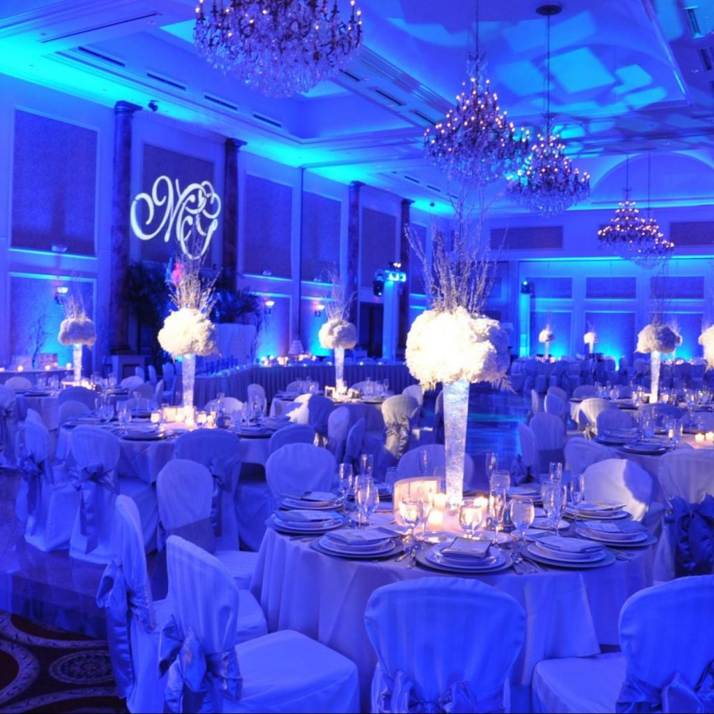 IDEAS FOR WEDDING RECEPTION DECOR AND ACCENTS