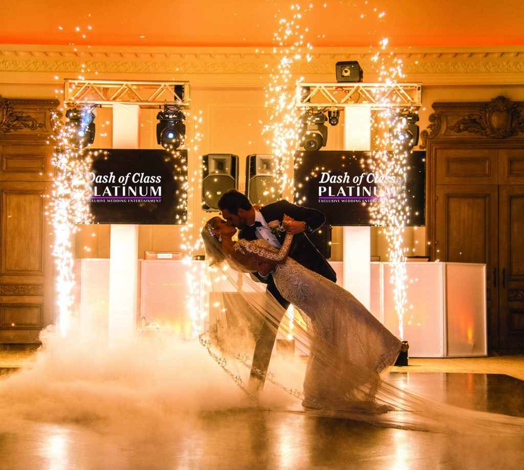 wedding reception special effects