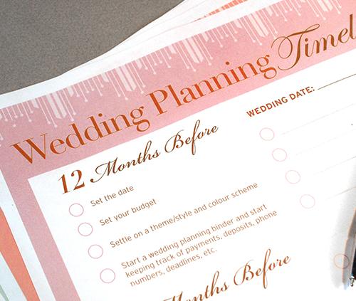 Wedding Planning Timeline Blog