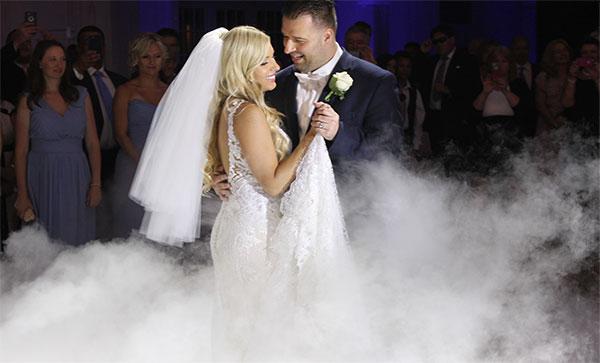 wedding enhancement dancing on clouds