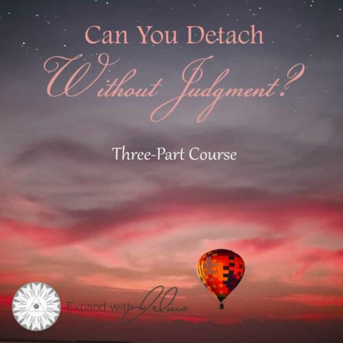 Can You Detach without Judgment | Expand with Julius and Xpnsion Network