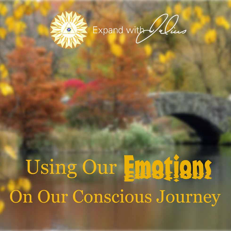 Using Our Emotions On Our Conscious Journey | Expand with Julius and Xpnsion Network