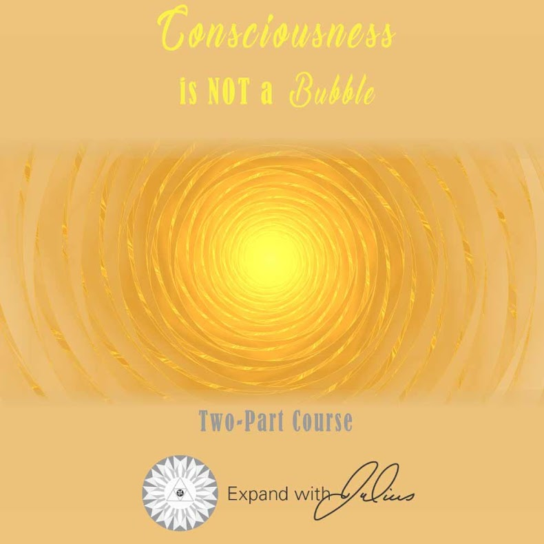 Consciousness is not a Bubble   Expand with Julius and Xpnsion Network