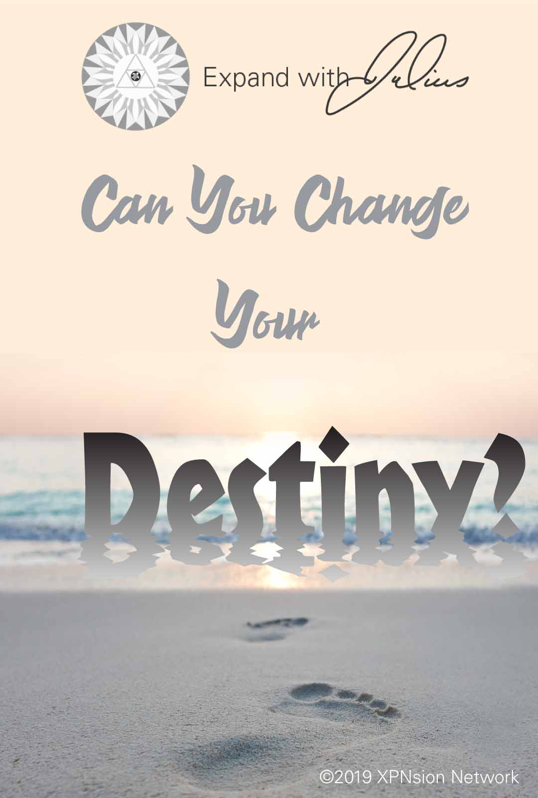 Poster Can you change your destiny   Expand with Julius and Xpnsion Network
