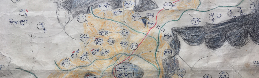 Tibetan Manuscript Maps of Dingri Valley