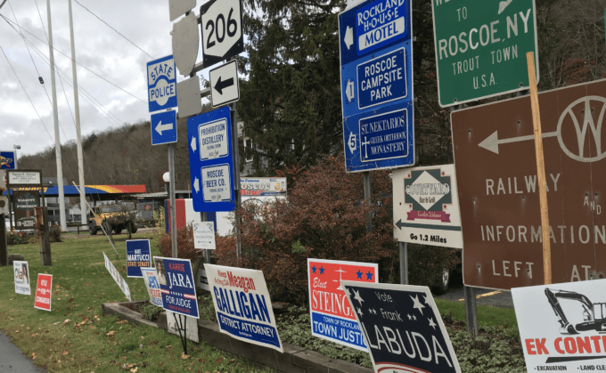 It's Only a Lawn Sign (Well, Perhaps Much More)