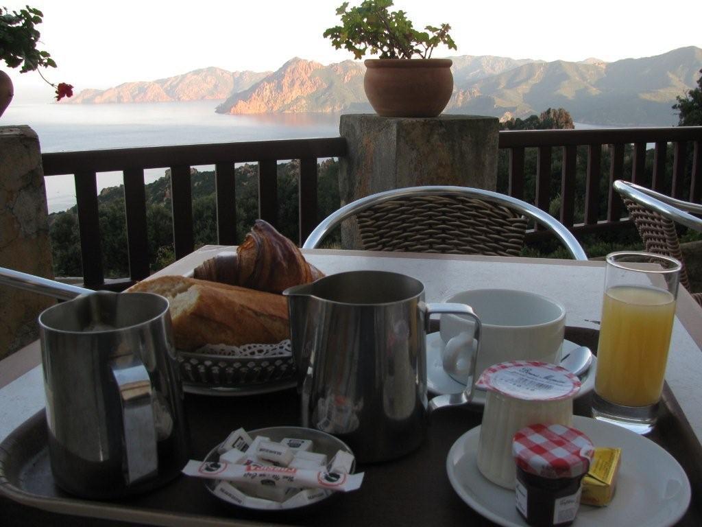 Breakfast in Corsica