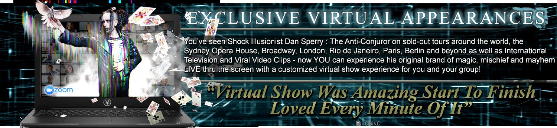 virtual magic shows