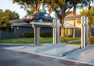 Car parking lifts at Pacific Palms