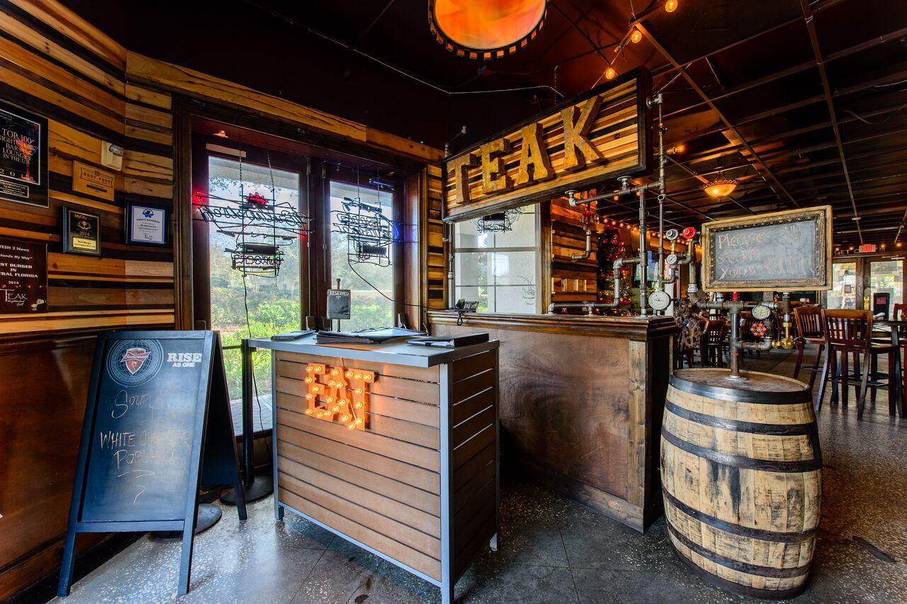 Teak Neighborhood Grill Orlando Welcome Entrance