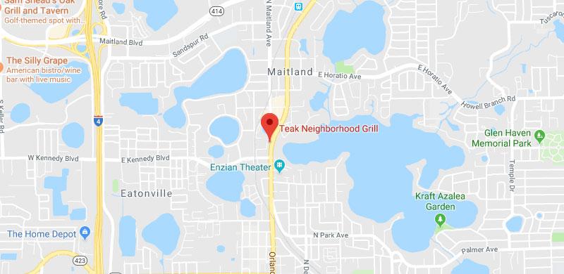 Teak Neighborhood Grill Maitland Location