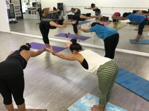 Standing Half Forward Bend Yoga Pose