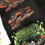Harley t-shirt quilt