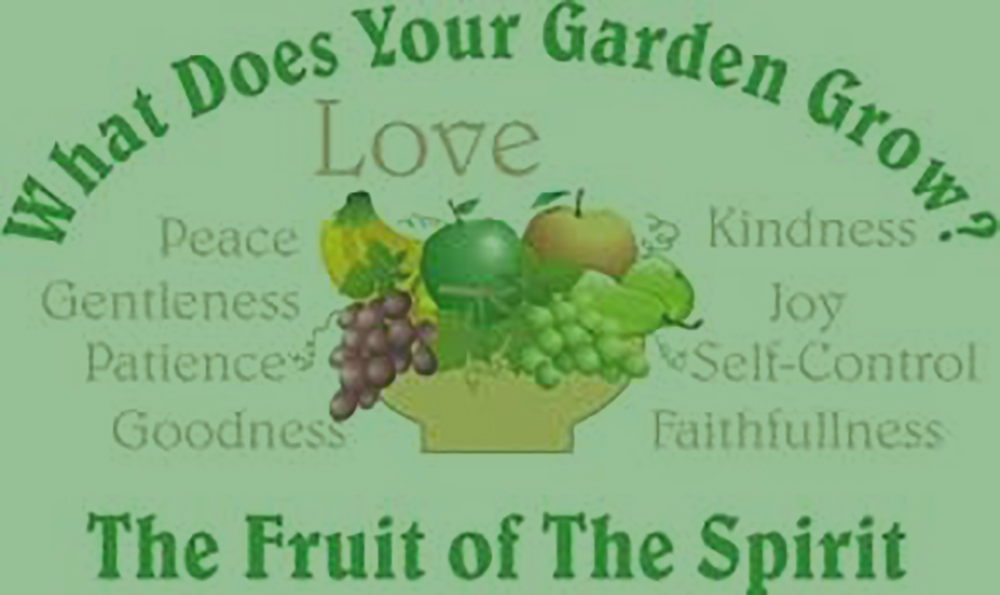 It's All in the Fruit (Part 1 – Love) Galatians 5:22-23