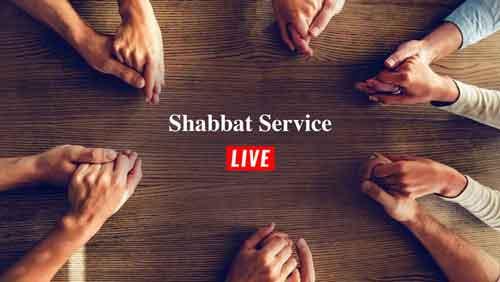 Invita people to watch live Adat Yeshua Messianic Jewish Congregation's Shabbat service