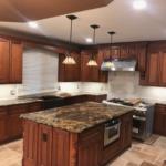 kitchen remodel, handy hometown services, handyman work