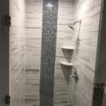 handy hometown services, shower, tile, bathroom remodel,
