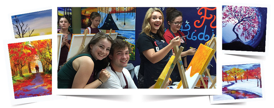 All Age Art Lesson in Central New Jersey