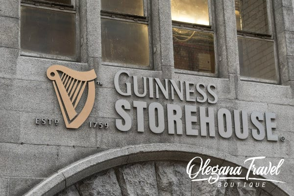 why ireland should be on your bucket list - Guinness Storehouse in Dublin