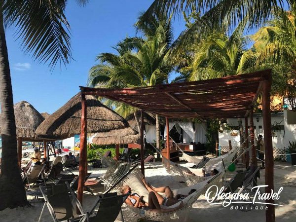 Dreams Sands Cancun Beach Hammocks