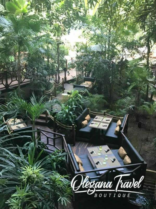 Paradisus Cancun Lobby Asian Restaurant
