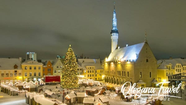 the Best Christmas Markets in Europe - Estonia Christmas Market