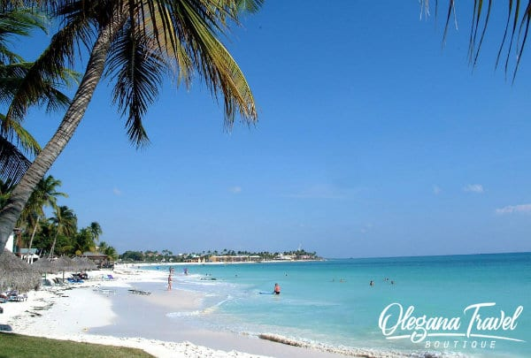 vacation destinations based on months of the year - Aruba