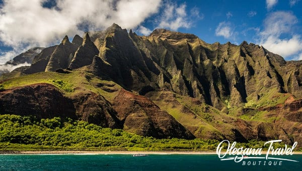 vacation destinations based on months of the year - Kauai, Hawaii