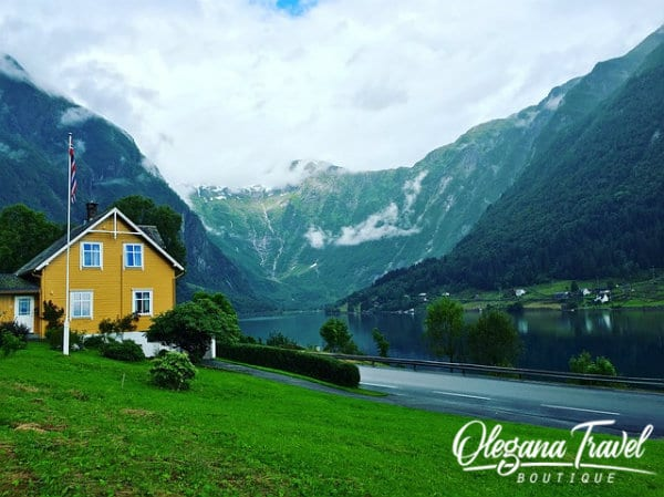 vacation destinations based on months of the year - Norway Fjords