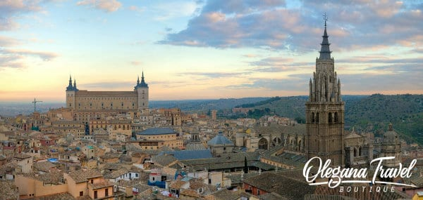 vacation destinations based on months of the year - Toledo, Spain