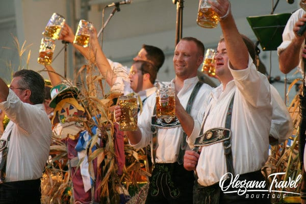 vacation destinations based on months of the year - Oktoberfest in Germany