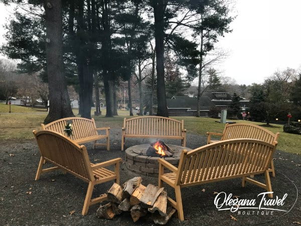 Fire Pit at Woodloch