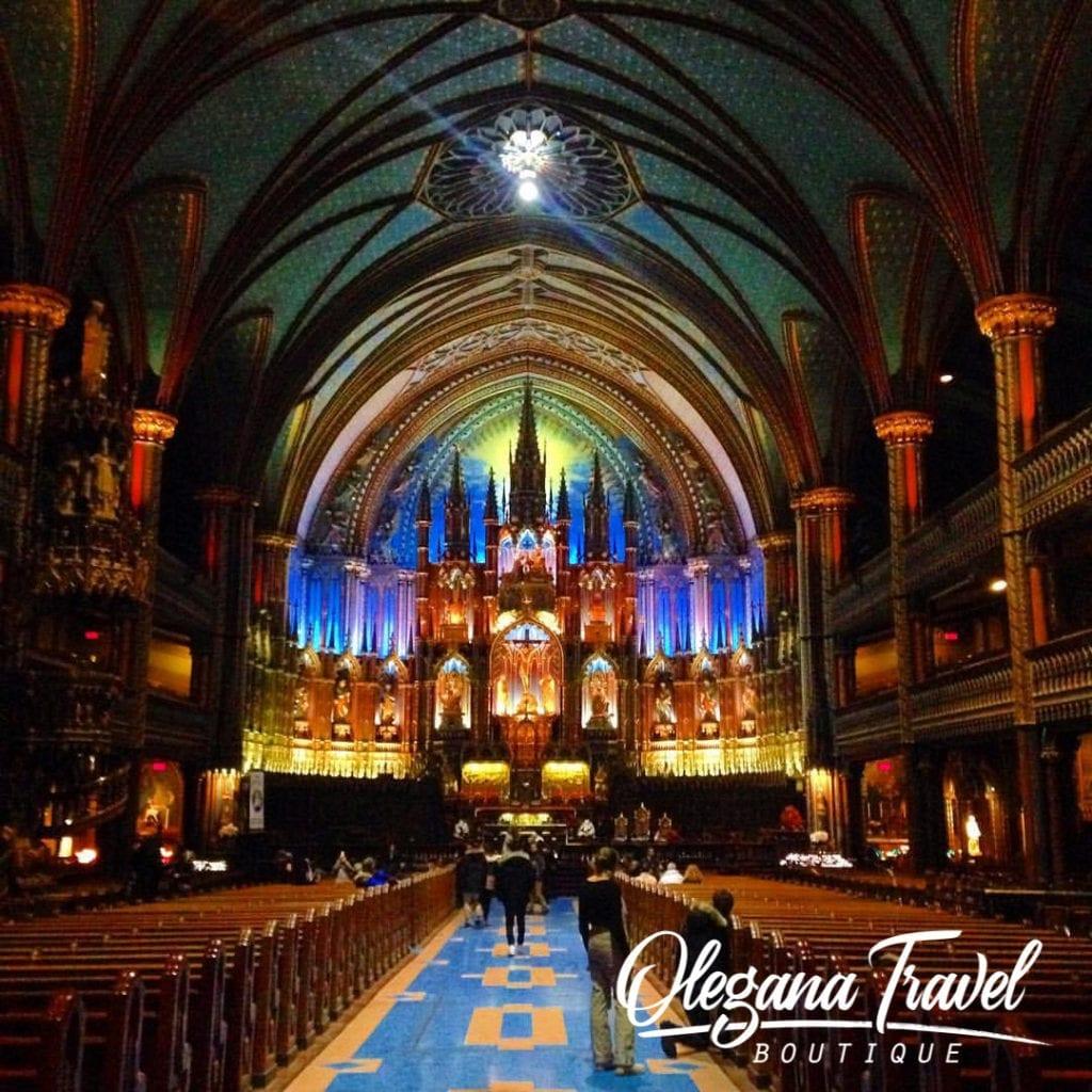 Notre-Dame Basilica of Montreal, Canada