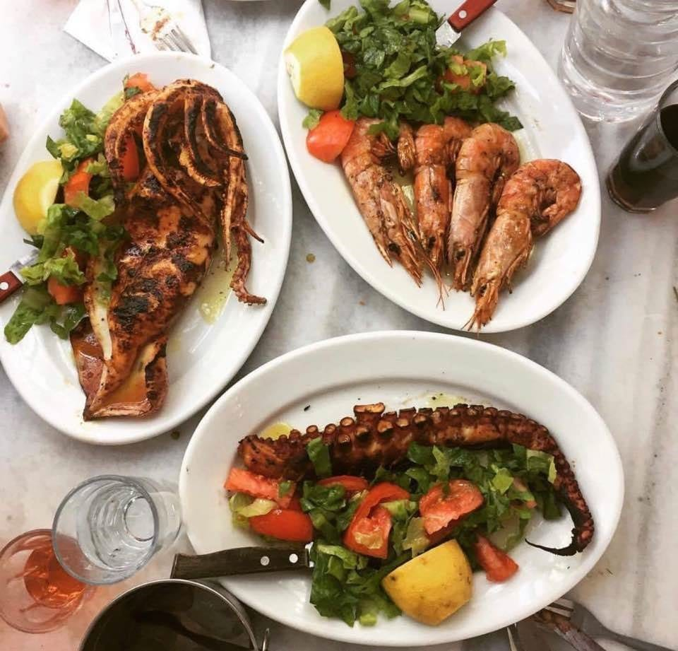 The best restaurants in Greece - Grilled seafood aplenty