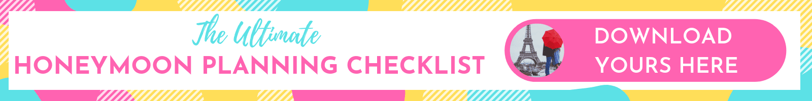 The Ultimate Honeymoon Planning Checklist - Free Download