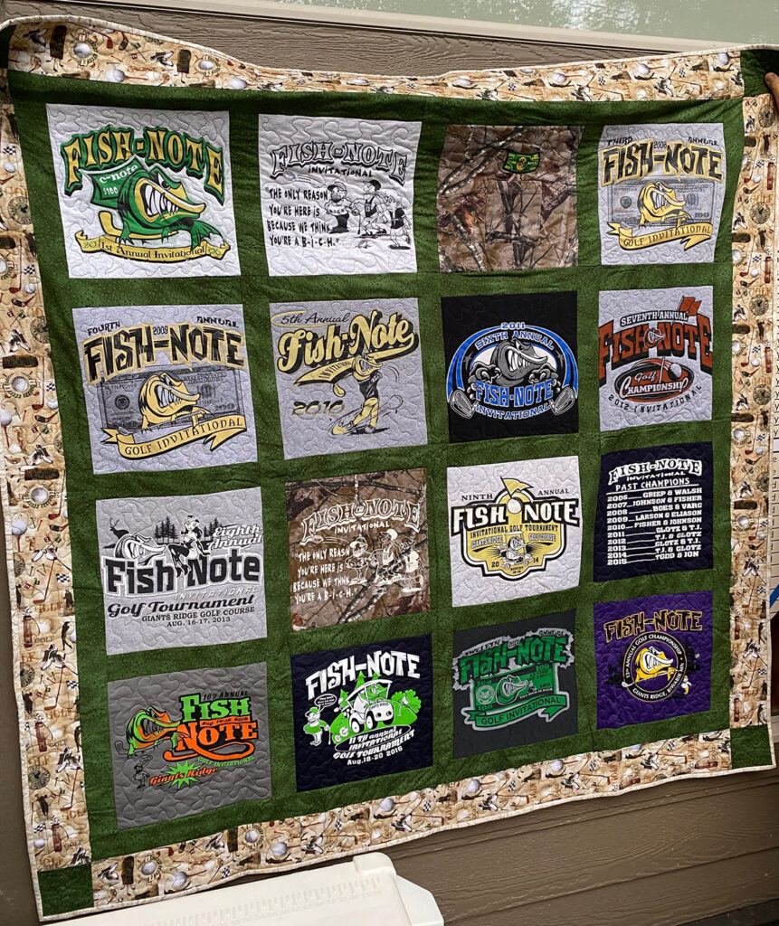 The Fishnote Quilt