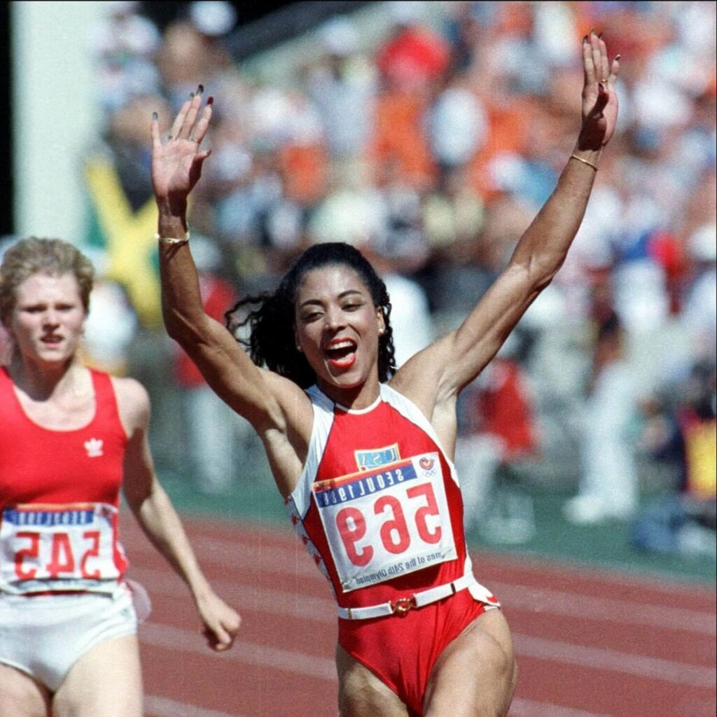 Florence Griffin Joyner, an Black American woman track and field star | Building Our Community Up