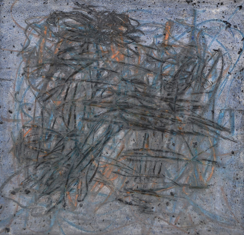 """12""""hx12.5""""w,This Buried Place#5,$375,2017,Battle"""