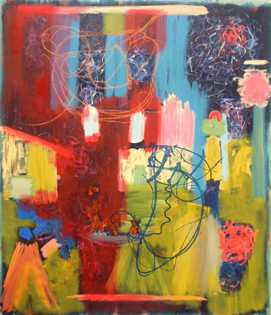 """The Gift of Blendable Events, 64""""x56"""""""