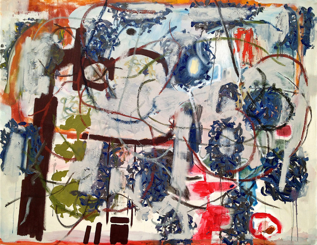 """The Pride of Cyclicity and Nests, 42""""x54"""""""