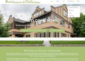 City Dwellings website created by Confluence Collaborative