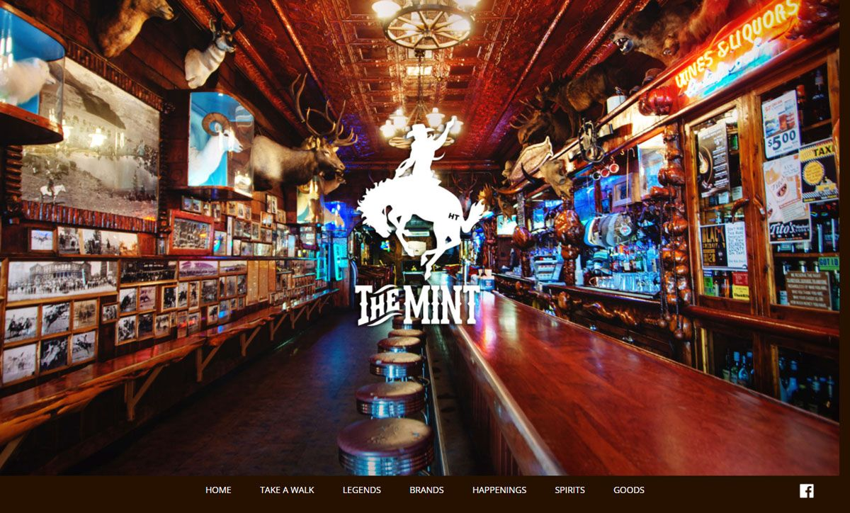 Mint Bar website created by Confluence Collaborative