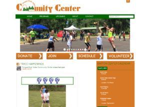 Tongue River Valley Community Center website created by Confluence Collaborative