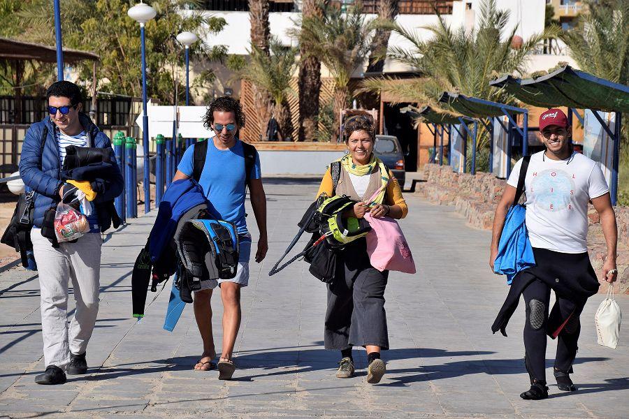club de kite surf à Soma Bay
