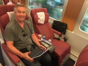 The train ride from Barcelona to Valencia