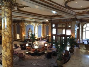 Fairmont Hotel Entrance & Lobby