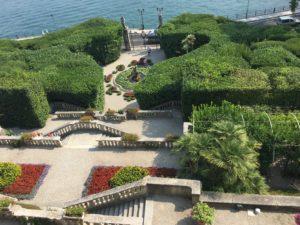 Villa Carlotta front garden